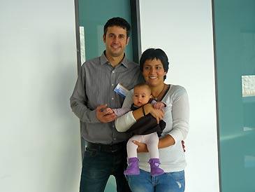 Raúl Alonso padece esta enfermedad y acaba de tener a su primera hija que ha nacido sana