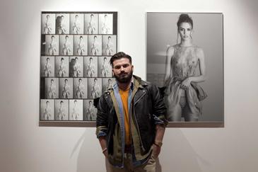 El zaragozano Valero Rioja es fotógrafo de moda