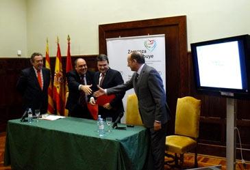 El Ayuntamiento de Zaragoza es el primero en formar parte del proyecto Enterprise 2020