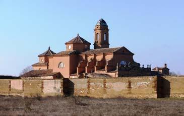 Cartuja de Monegros. Foto: www.turismolosmonegros.es