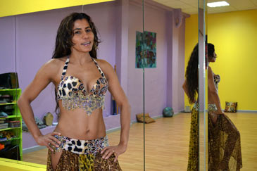 Antonia Azahara tiene también una compañía de danza en Zaragoza