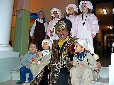 El Paje Real de SSMM los Reyes Magos asegura que los niños han sido buenos