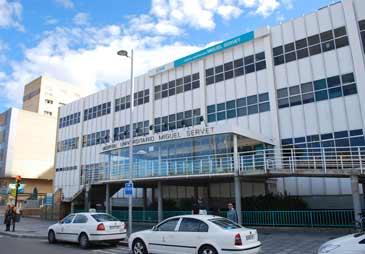 Imagen de archivo del Hospital Universitario Miguel Servet