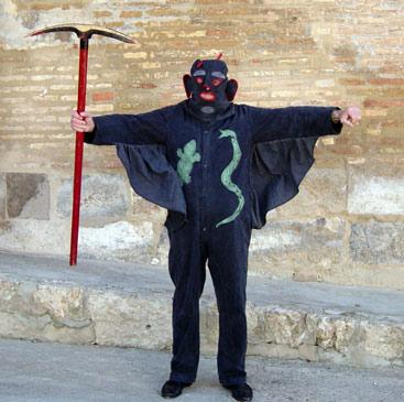 Diablo del dance de Velilla de Ebro