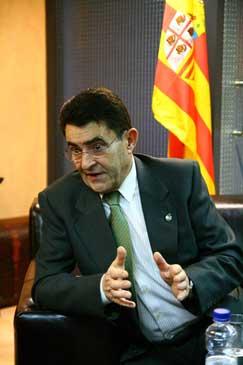 Emilio Eiroa en una entrevista realizada en 2010