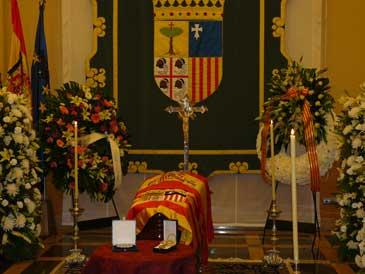 La capilla ardiente se ha instalado en el Pignatelli