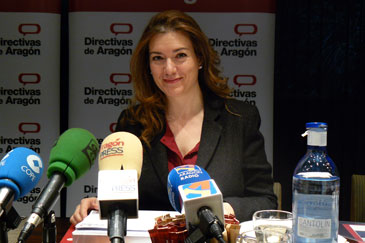 Ana Solana, presidenta de la Asociación de Directivas de Aragón