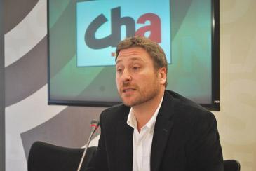 José Luis Soro es el presidente de Chunta Aragonesista
