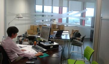 Las nuevas oficinas
