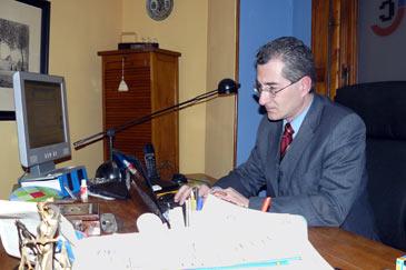 El socio fundador de ColorIURIS, Pedro J. Canut, en una imagen de archivo