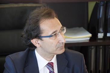 José Luis Saz es el consejero de Hacienda y Administración Pública