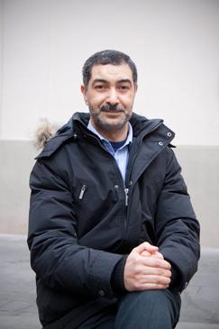 Abderrahmen Ben Chaabane es uno de los tres profesores que imparten religión islámica en Aragón