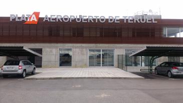 Imagen del aeropuerto de Teruel