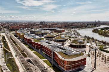 La Ciudad de la Justicia ocupa parte del antiguo recinto Expo.