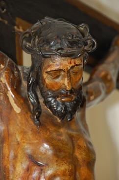 Detalle del cristo