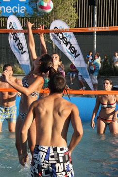 El buen tiempo favoreció tanto la participación en las pistas como el interés de los visitantes en Puerto Venecia