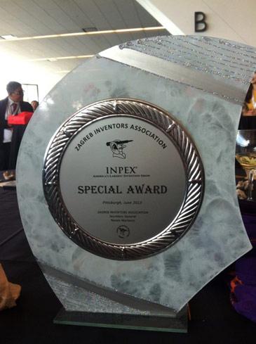 Premio en la Feria Inpex 2013