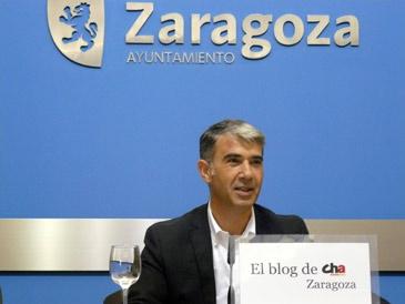 Juan Martín es el portavoz municipal de CHA