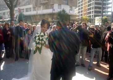 Cuarte de Huerva prohíbe tirar arroz en las bodas civiles