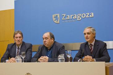 Imagen de la presentación del trofeo