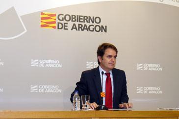 El consejero de Presidencia, Roberto Bermúdez de Castro