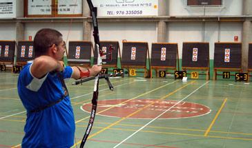 La competición ha reunido a los mejores arqueros de Aragón