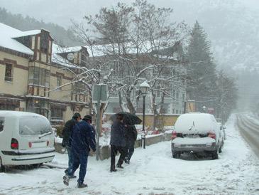 Imagen de archivo de un temporal de nieve