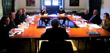 El presidente de la Fundación Santa María de Albarracín es José Ángel Biel