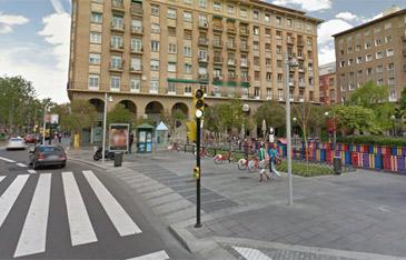 El suceso tuvo lugar en la plaza de San Francisco