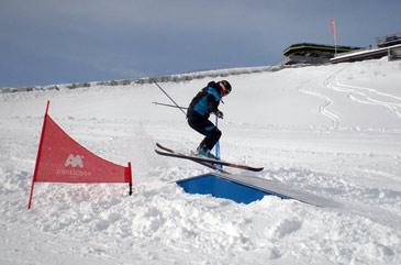 La estación de Panticosa ha sido la última en incorporar un snowpark a sus instalaciones