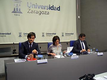 Estos siete proyectos han sido presentados en el Paraninfo de Zaragoza