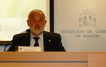 El subdelegado del gobierno en Zaragoza, Ángel Val, en una imagen de archivo