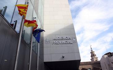 El juicio se celebrará en la Audiencia Provincial de Zaragoza. Archivo