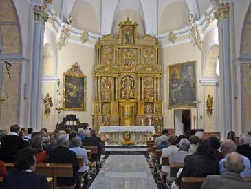La rehabilitación de la iglesia de La Asunción de Luco de Jiloca ha formado parte del Plan de Restitución