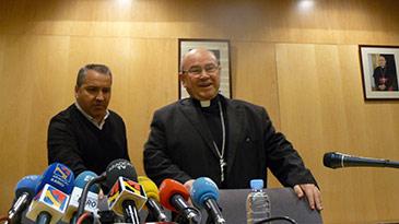 Ureña ha dado las gracias a todos los fieles de la diócesis de Zaragoza por su afecto y cariño