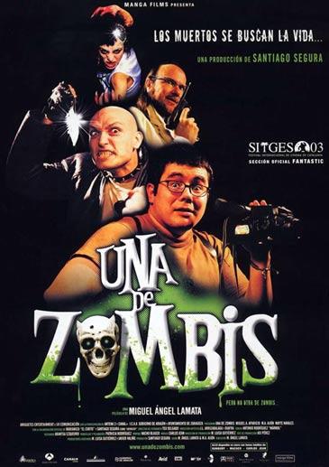 """Cartel de la película """"Una de zombies"""""""