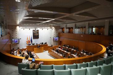 Imagen del Pleno de las Cortes