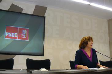 Imagen de archivo de la diputada socialista María Victoria Broto
