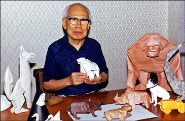 Esta es la primera vez que los trabajos de Yoshizawa han salido del país del sol naciente