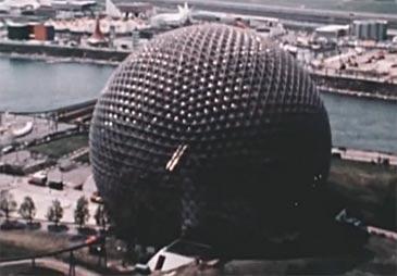 El arquitecto estadounidense fue inventor de la cúpula geodésica
