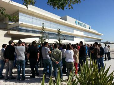 Los trabajadoes de HP ya se concentraron el pasado mes de octubre por el despido de 20 personas
