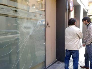 El coordinador general de IU Aragón, Adolfo Barrena, ha denunciado los hechos