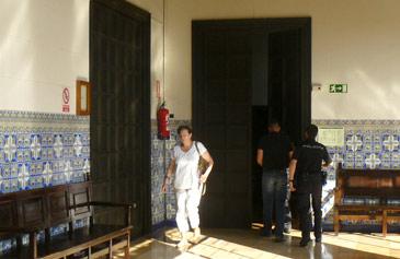 El acusado por el crimen de Mequinenza, a la salida del juicio de este miércoles