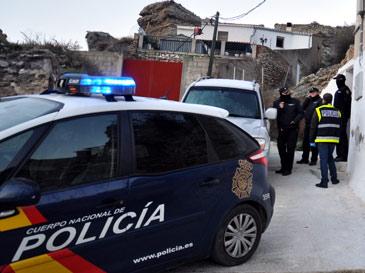 La Policía Nacional en Calatayud, en el lugar de los hechos