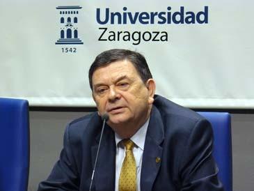 El rector Manuel López en una imagen de archivo