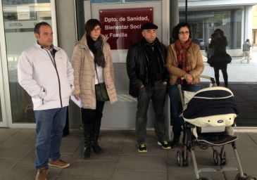 Las familias se reunieron con el consejero de Sanidad en noviembre