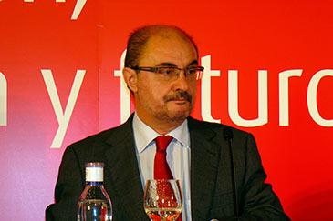 Imagen de archivo del presidente de Aragón, Javier Lambán