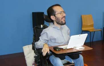 Pablo Echenique pidió asesoría para migrar el sistema informático de las instituciones aragonesas a software libre