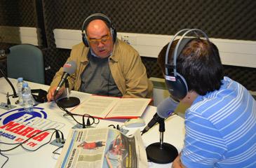 El consejero de Deportes, Roberto Fernández, repasa la actualidad del Real Zaragoza