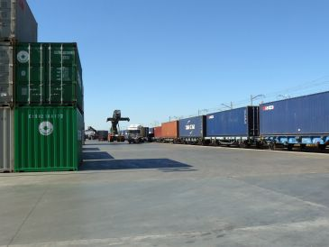 Imagen de la Terminal Marítima de Zaragoza